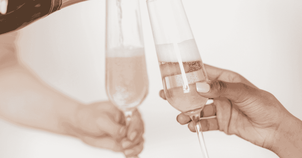 stock picking strategies that work celebrating with clinking champagne galsses