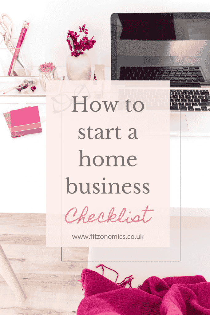 how to start a successful home business checklist