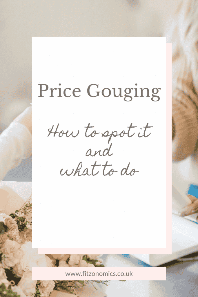 why is price gouging bad?